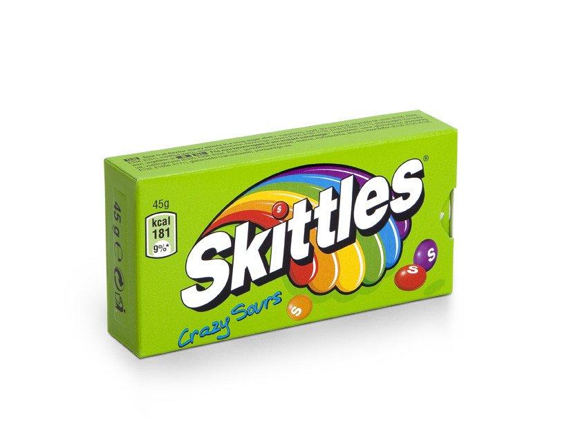 Skittles   Crazy Sours   16 stuks