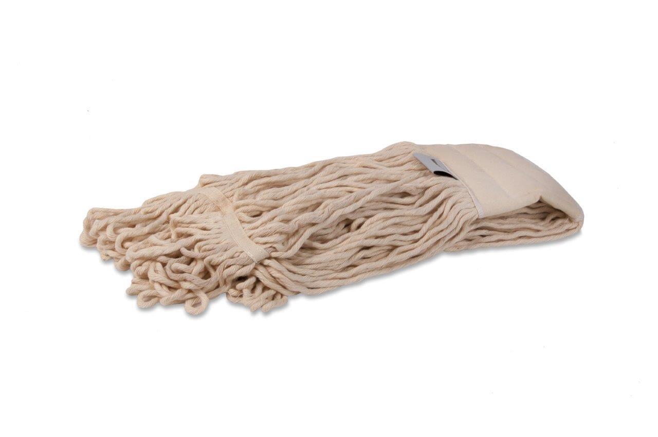 Katoenen mop | Inclusief band | 450 gr