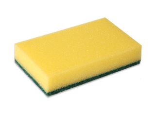 Wecoline | Schuurspons | Geel-groen | 10 stuks