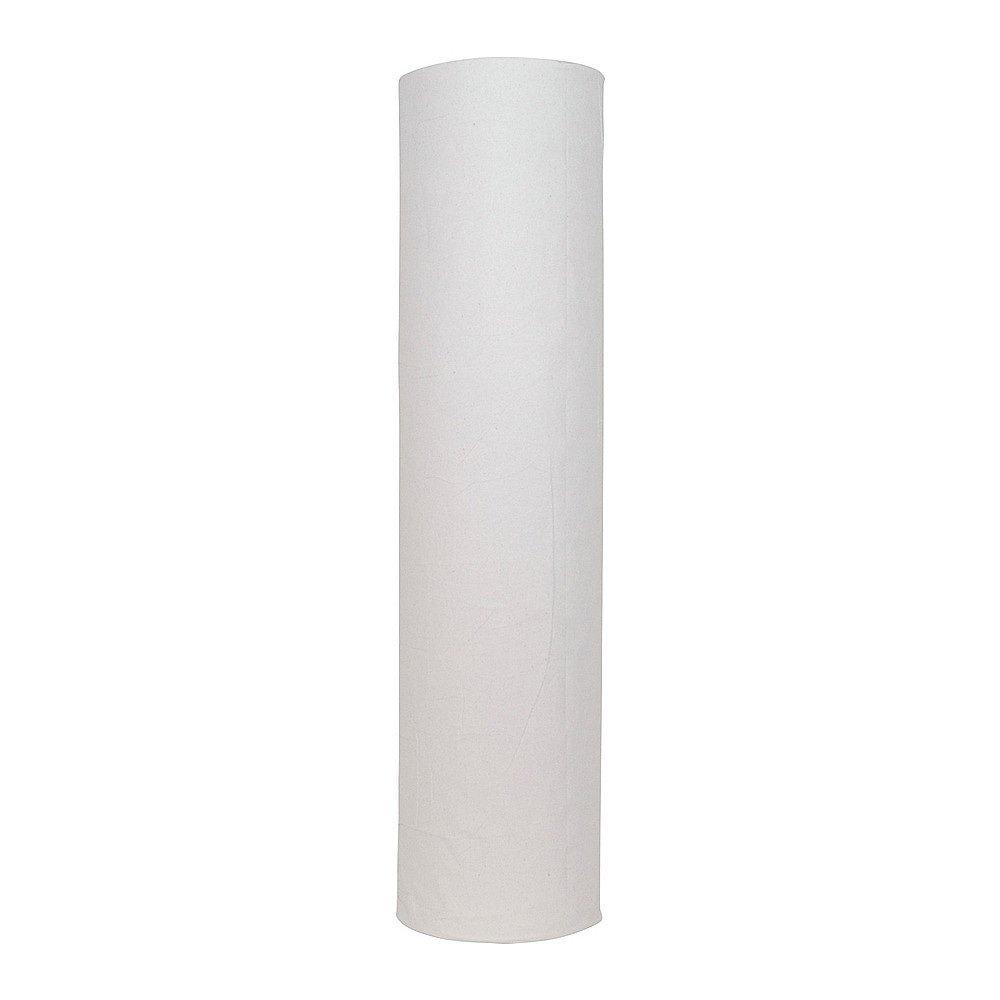 Onderzoekstafelpapier wit 1-lgs 5 x 150mtr 60 cm geperf