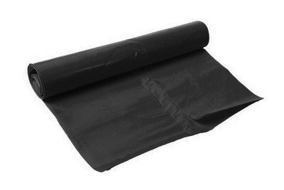 Afvalzak HDPE | 63 x 70 cm | Zwart | 1000 stuks