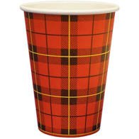 Hot Cup | Schotse Ruit | 180 ml | 2500 stuks