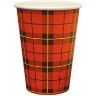 Hot Cup | Schotse Ruit | 150 ml | 2500 stuks