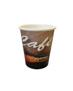 Cafe Auberge | Koffiebeker | Karton | 180 ml | 2500 stuks