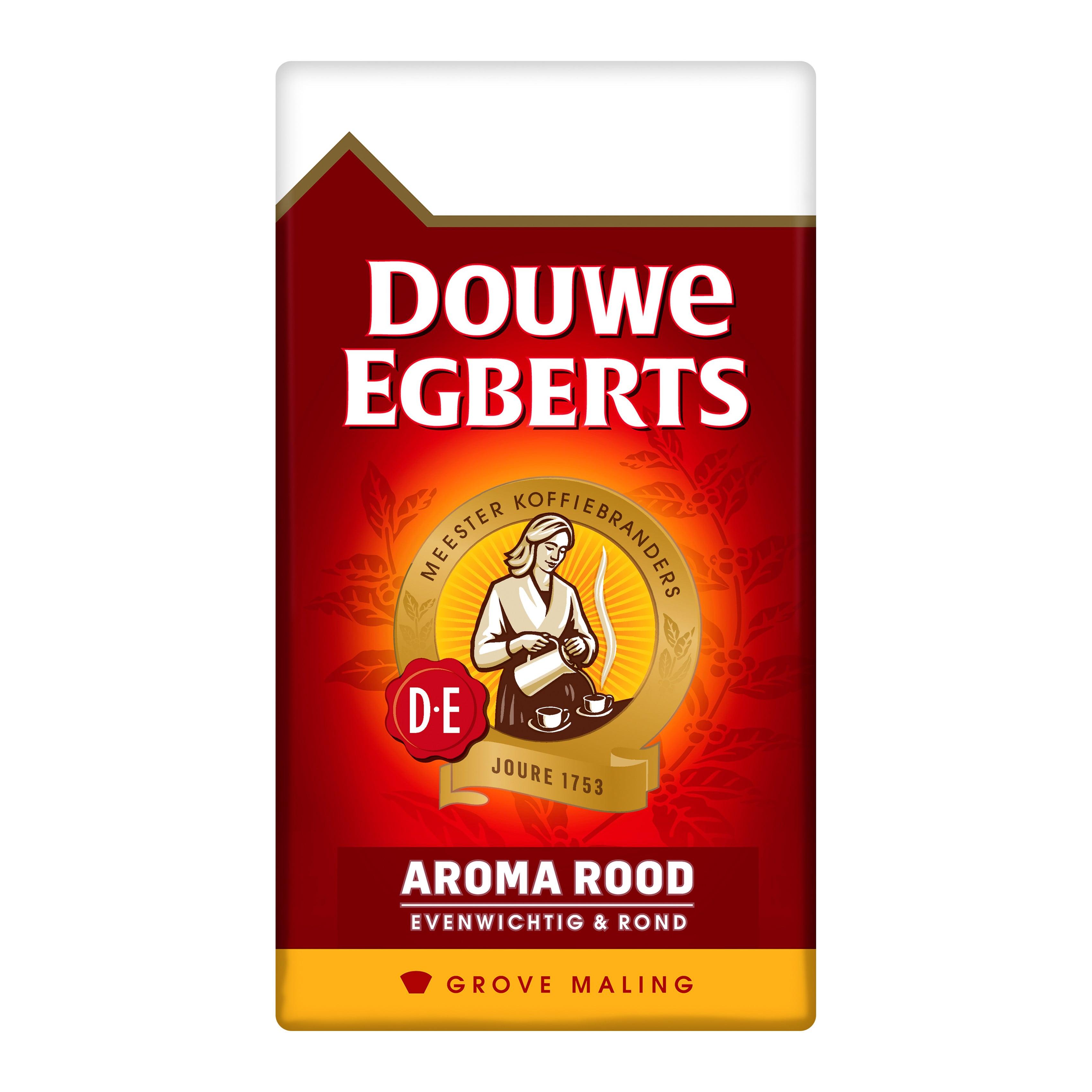 Douwe Egberts | Aroma Rood | Grove maling | Doos 6 x 500 gram