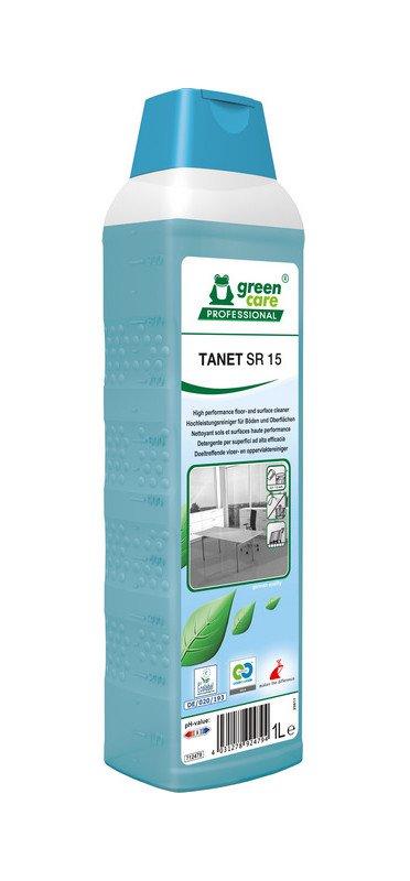 Green care   Tanet SR 15   Interieurreiniger   Fles 10 x 1 liter