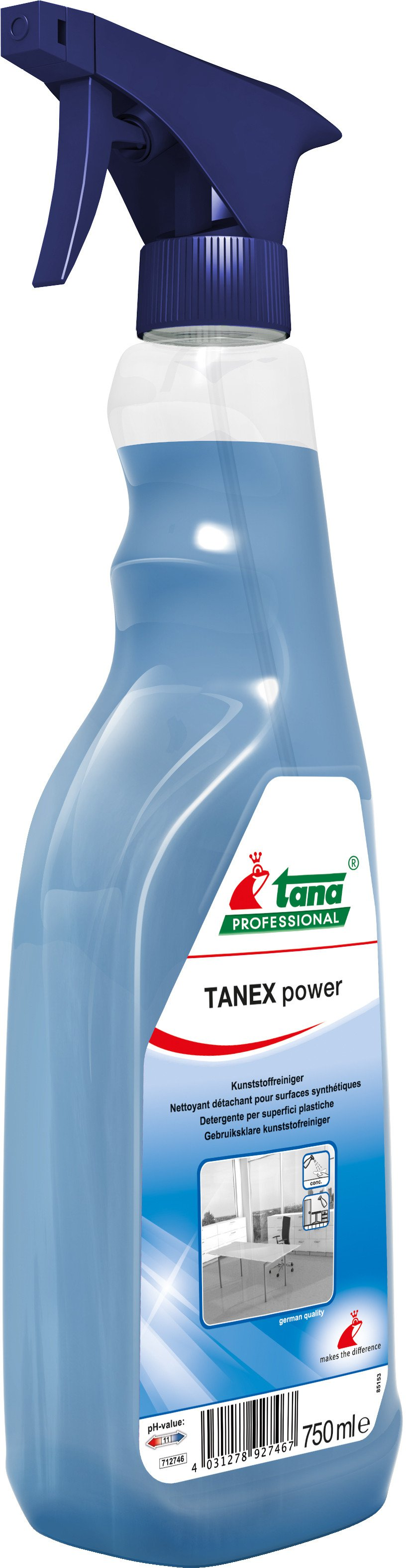 Green Care | Tana tanex Power | Kunststofreiniger | Fles 10 x 750 ml