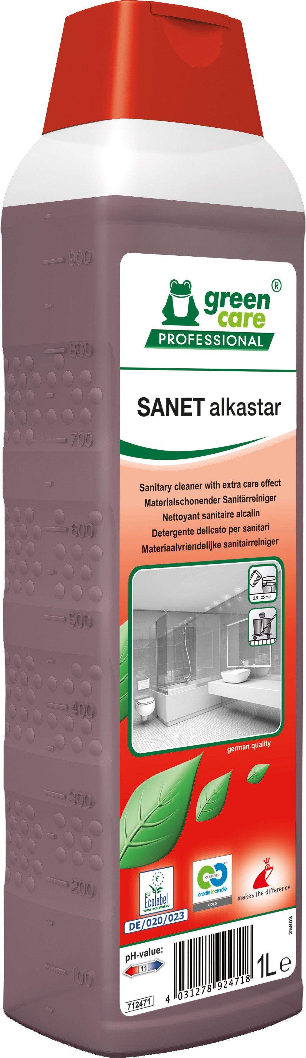 Green Care | Sanet alkastar | Fles 10 x 1 liter