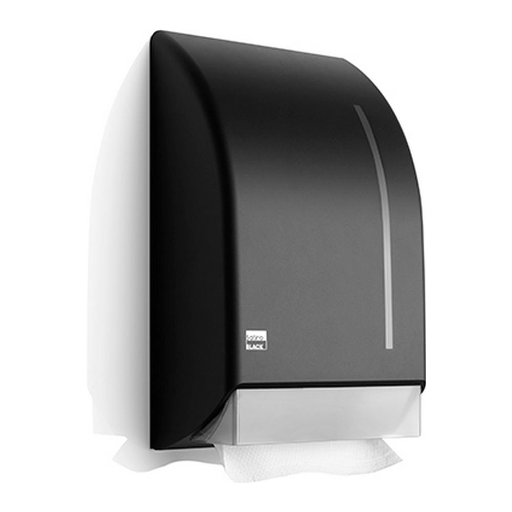 Satino Black | Z-vouw handdoekdispenser