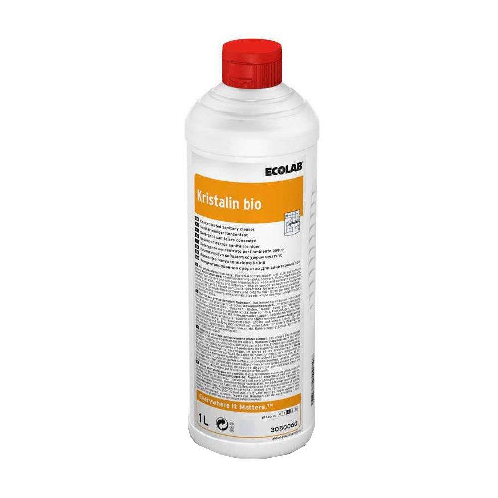 Ecolab | Kristalin Bio | Sanitairreiniger | Fles 6 x 1 liter