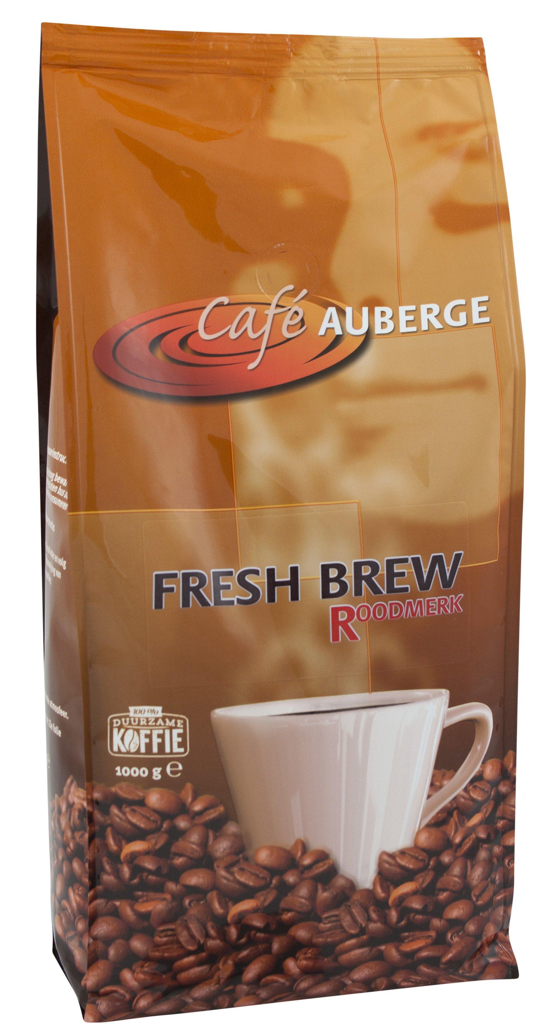 Cafe Auberge | Fresh brew | Zak 4 x 1 kg