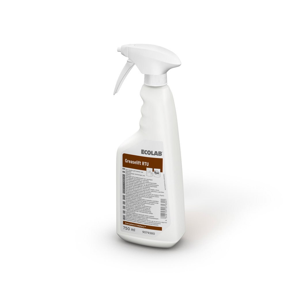 Ecolab | Greaselift | Sprayflacon 6 x 750 ml