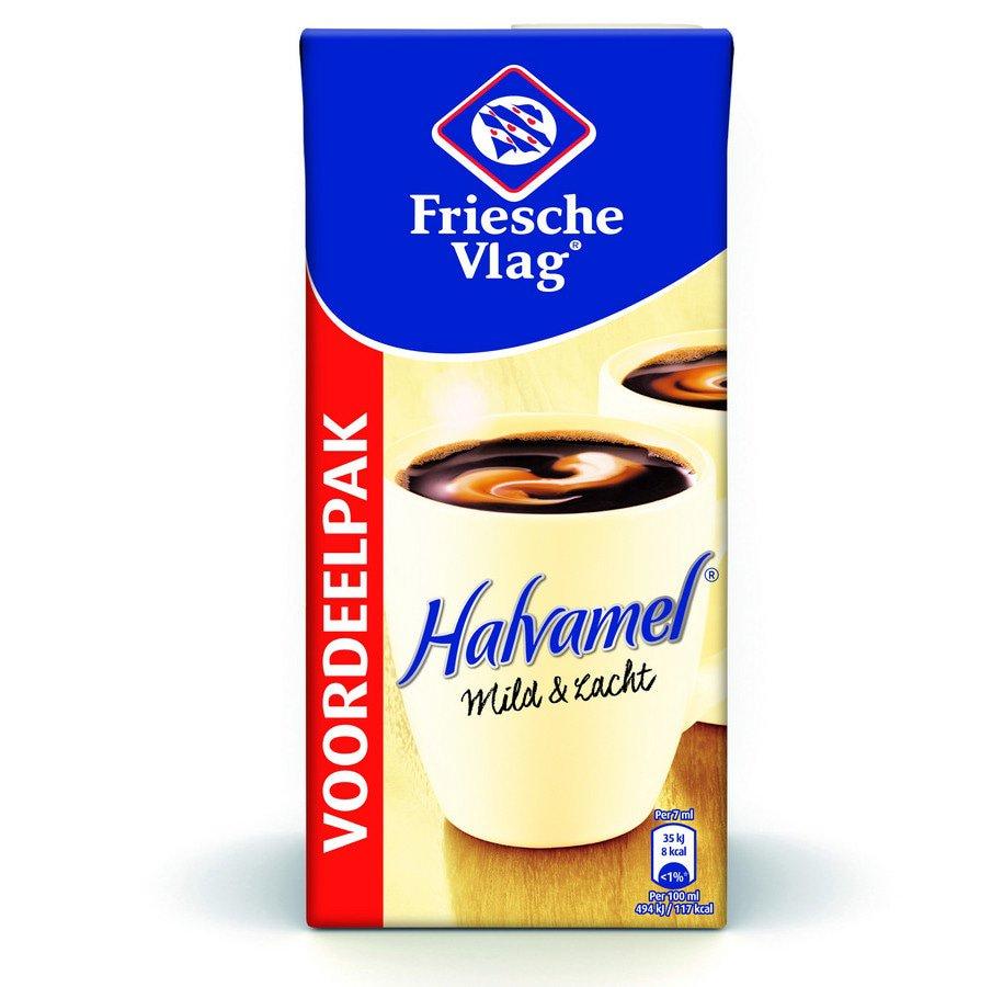 Friesche Vlag | Halvamel | 6 x 930 ml