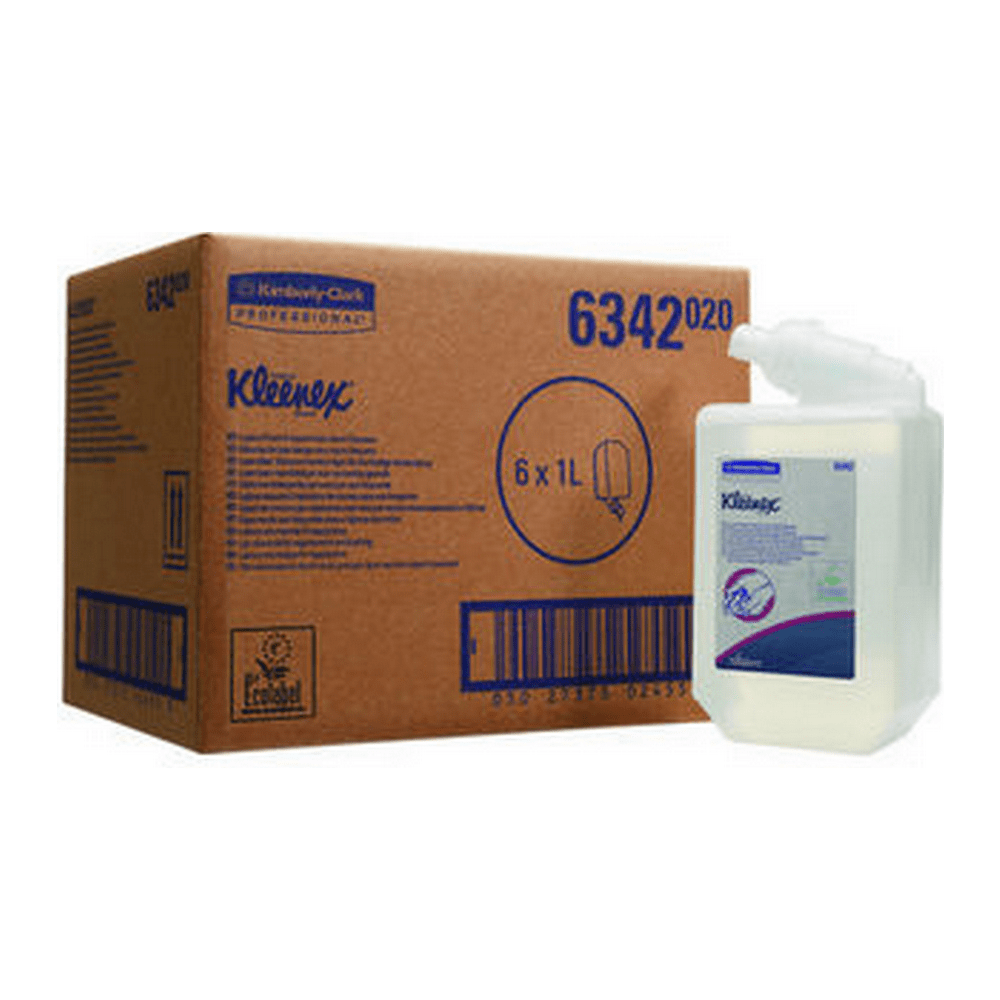 Kleenex   Foamzeep   Flacon 6 x 1 liter