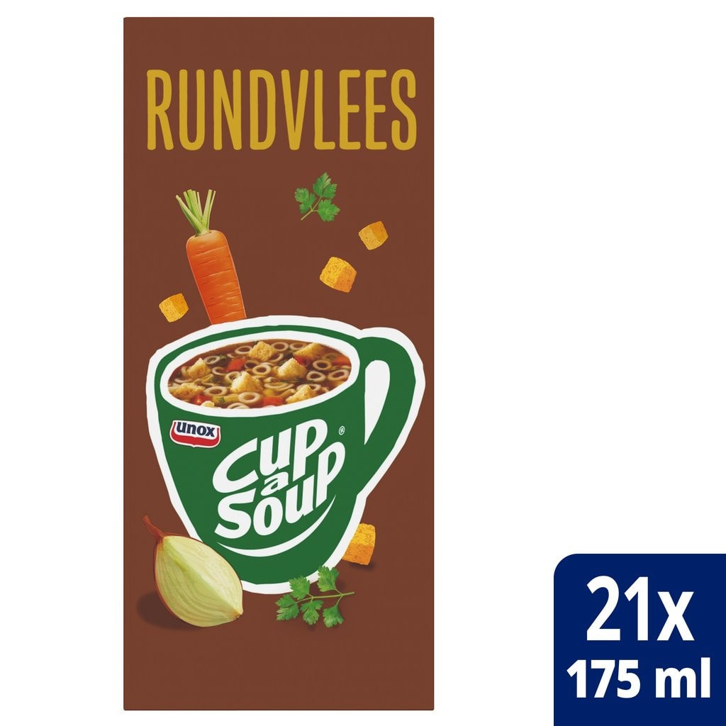 Cup-a-Soup | Rundvlees | 21 x 175 ml