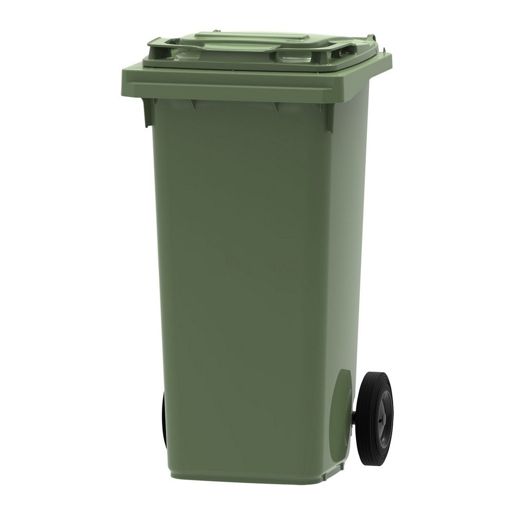 Mini rolcontainer 120 liter groen
