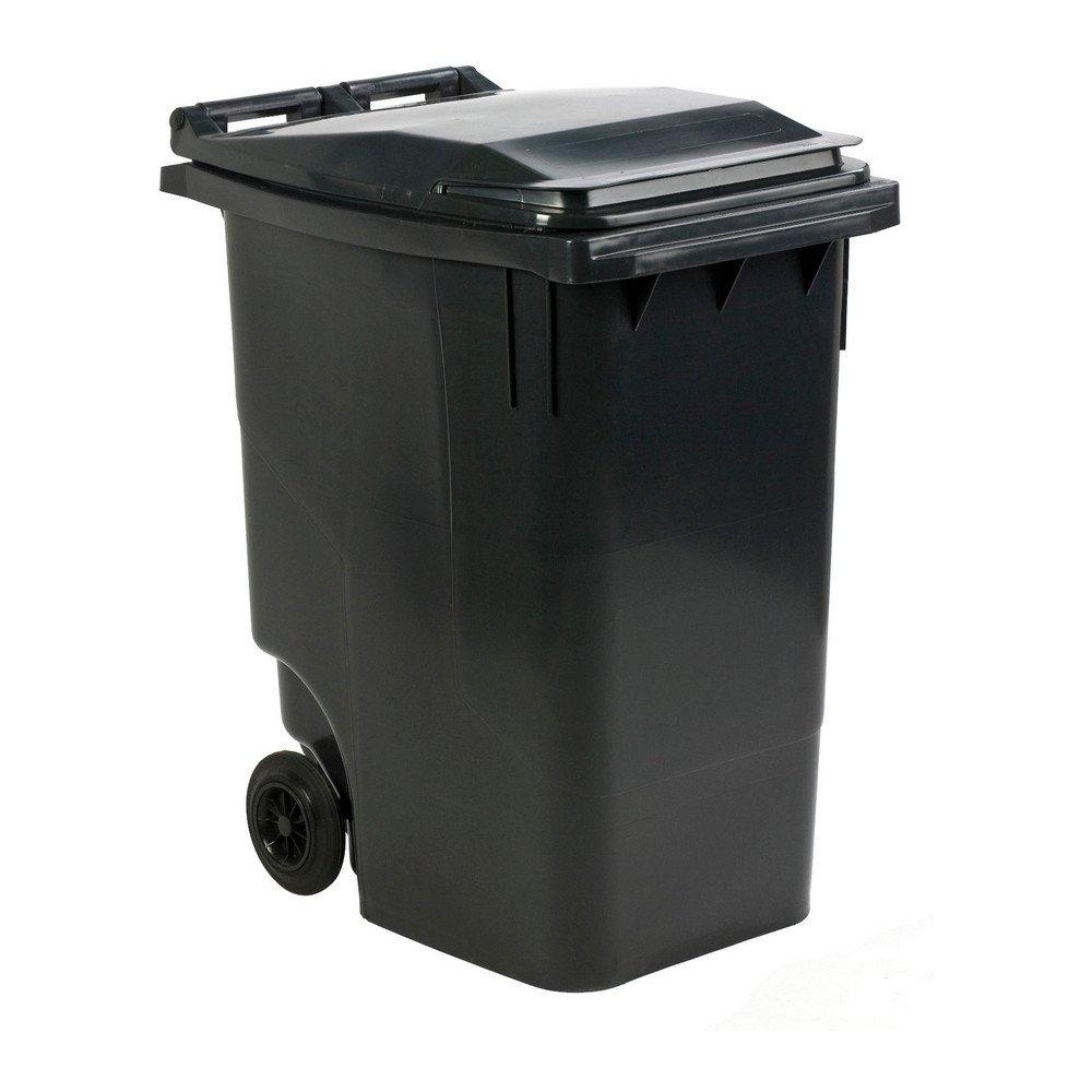 Mini rolcontainer 360 liter grijs