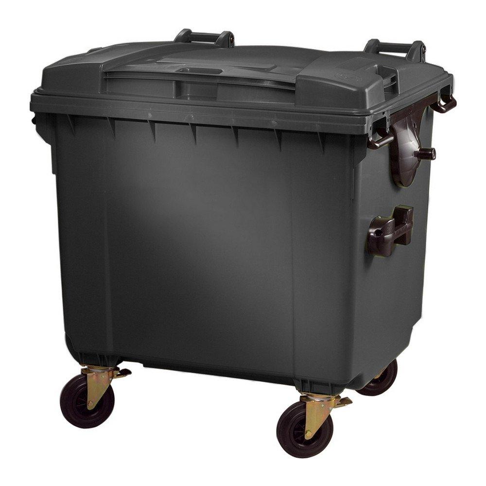 Kunststof container | Grijs | Inhoud: 1100 liter