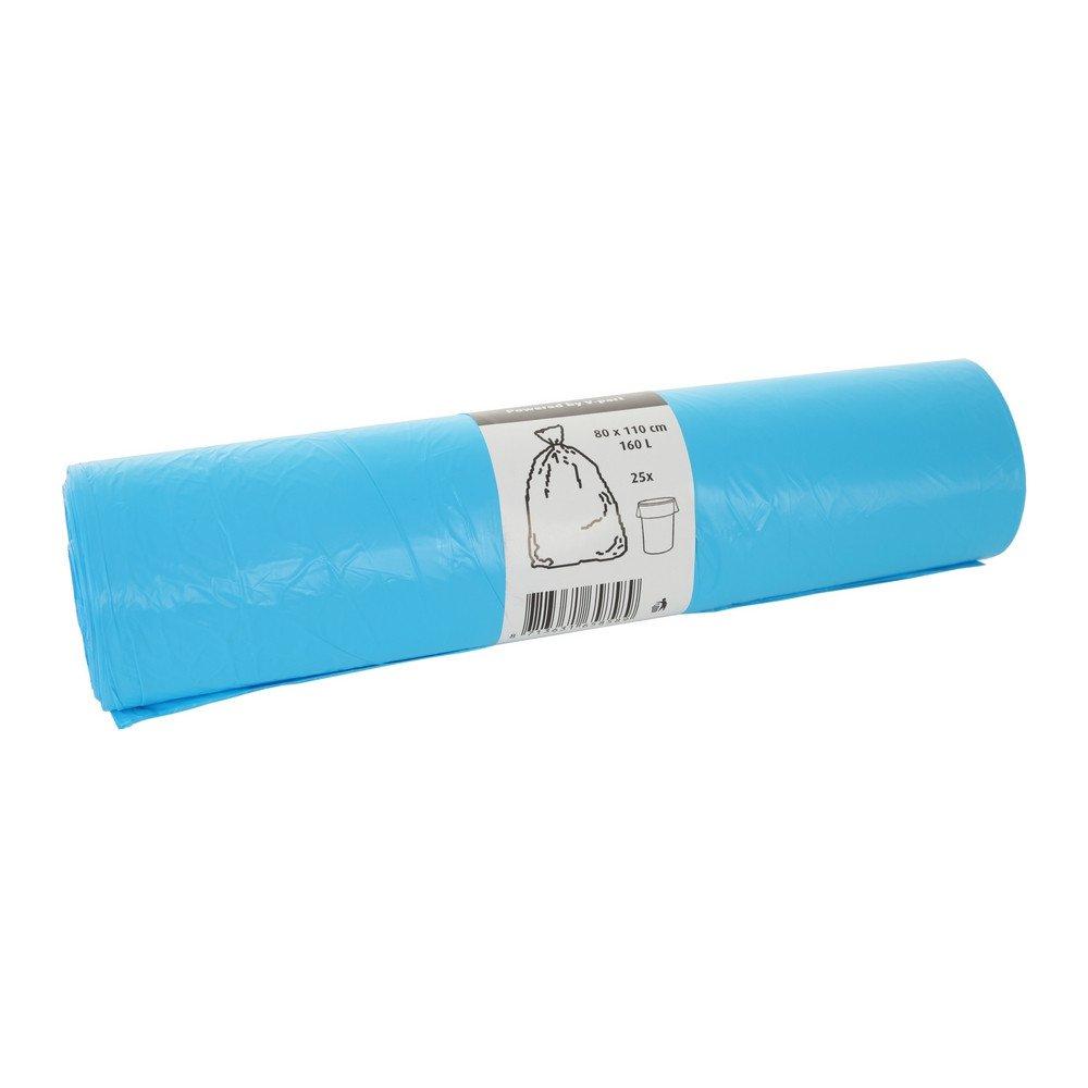 Afvalzakken blauw 80x110x0.016 V-Part 250st