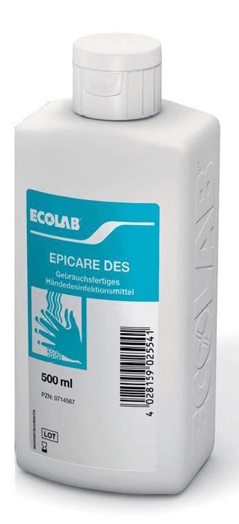 Ecolab | Epicare Des | 6 x 500 ml