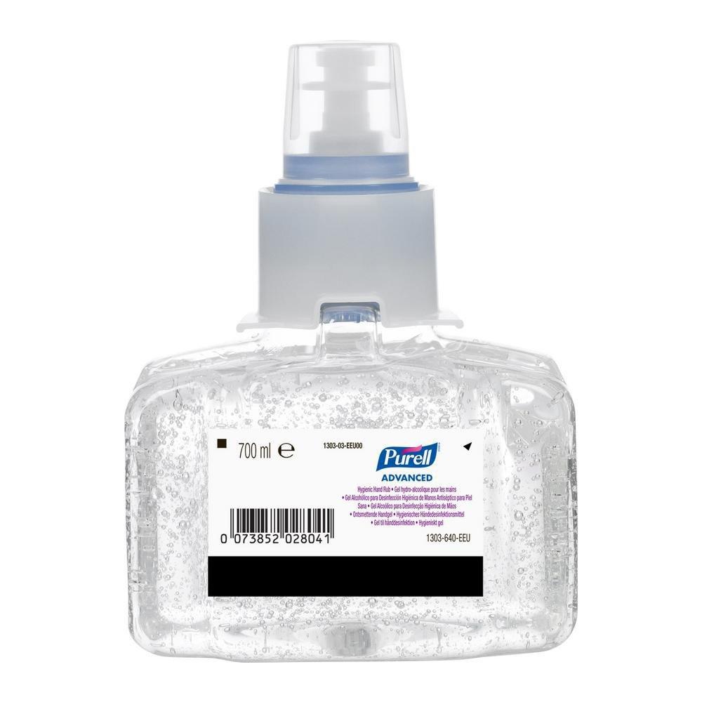 Gojo LTX-7 Purell advanced desinfectie handgel 3 x 700 ml