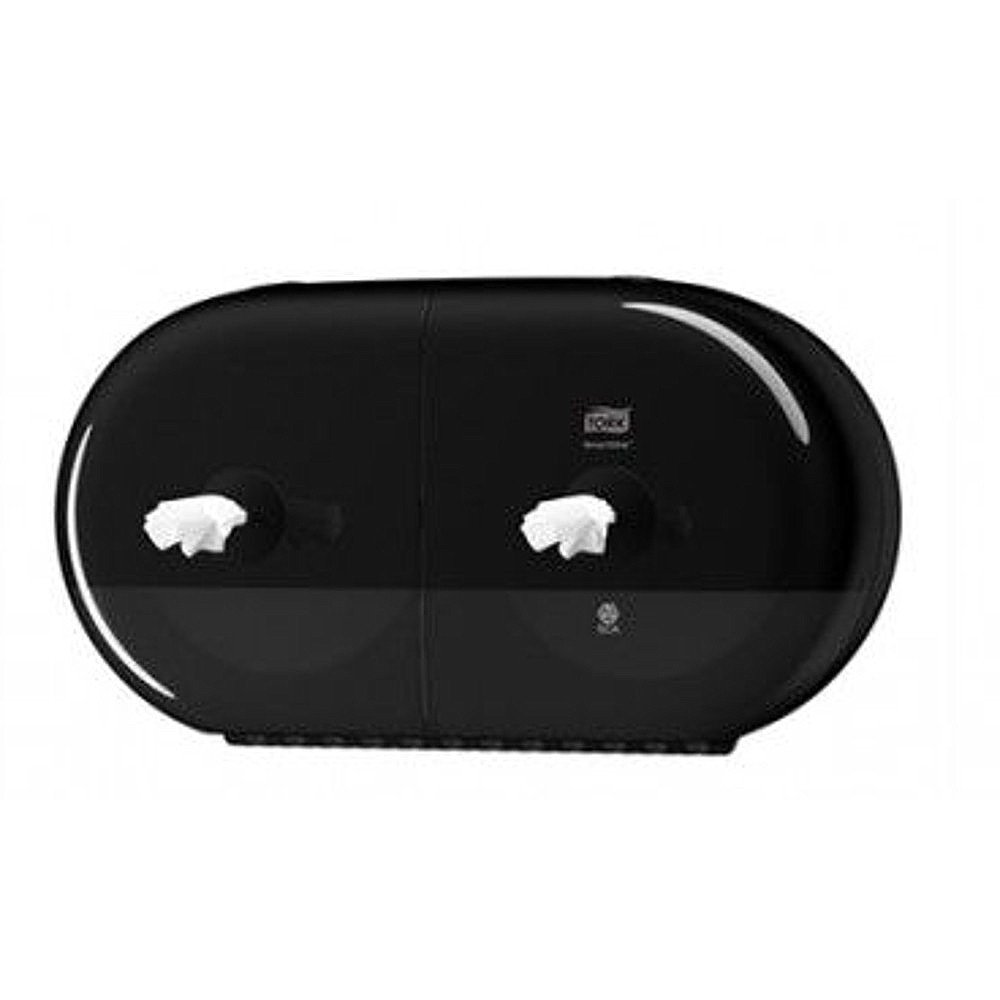 Tork Smartone T9 Twin Mini Toiletpapierdispenser zwart