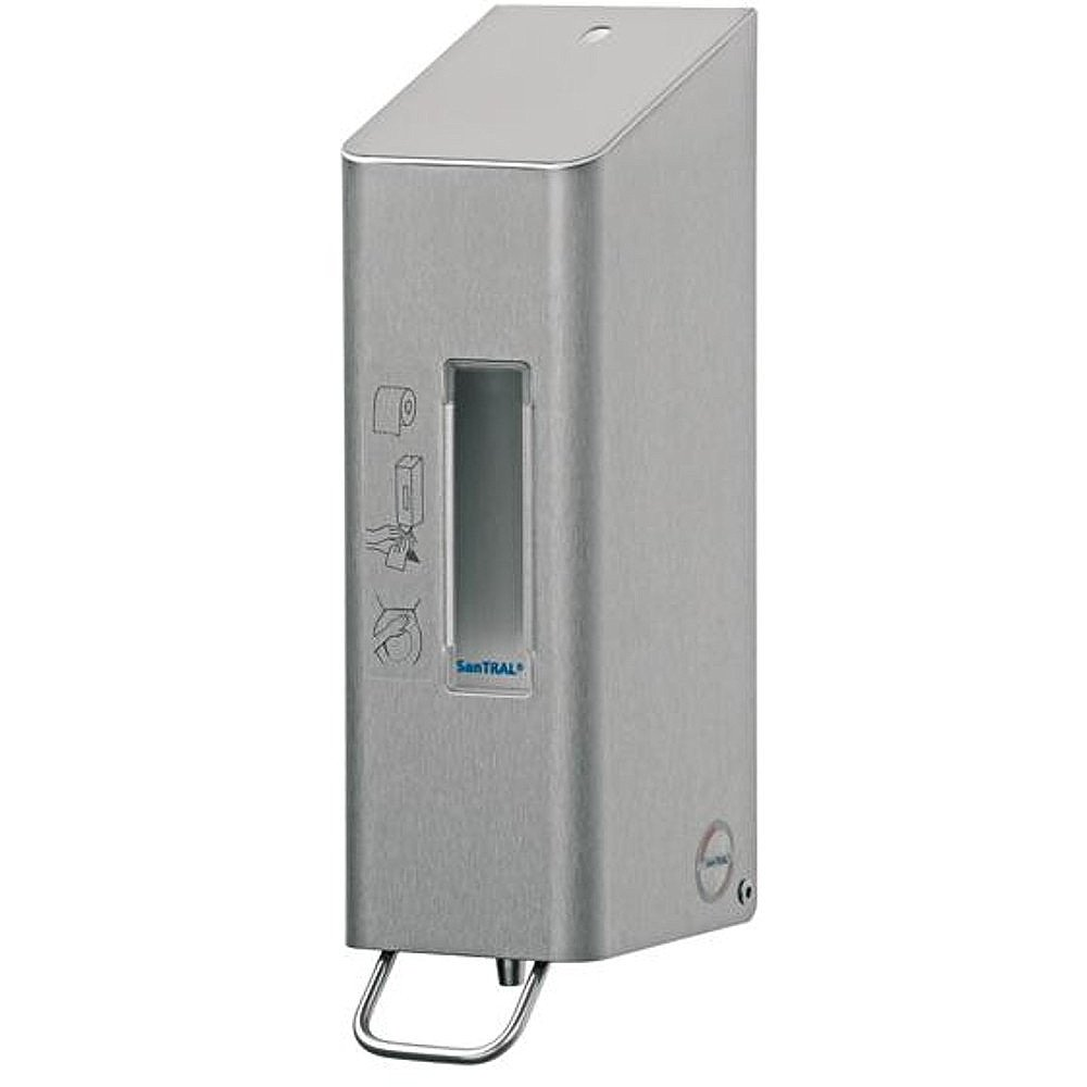Dispenser voor toiletbrilreiniger Santral RVS 600 ml