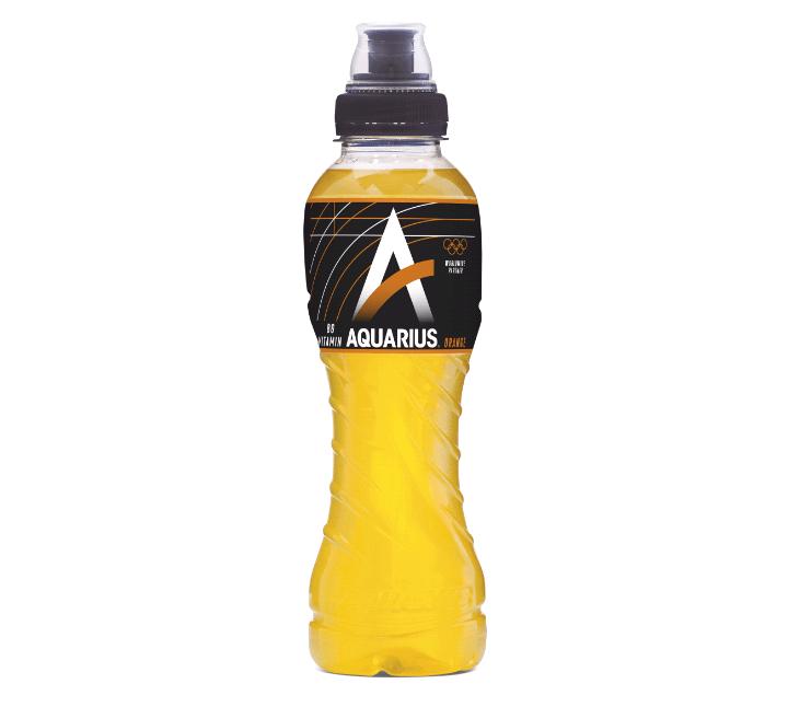 Aquarius Orange | Petfles 12 x 0,5 liter