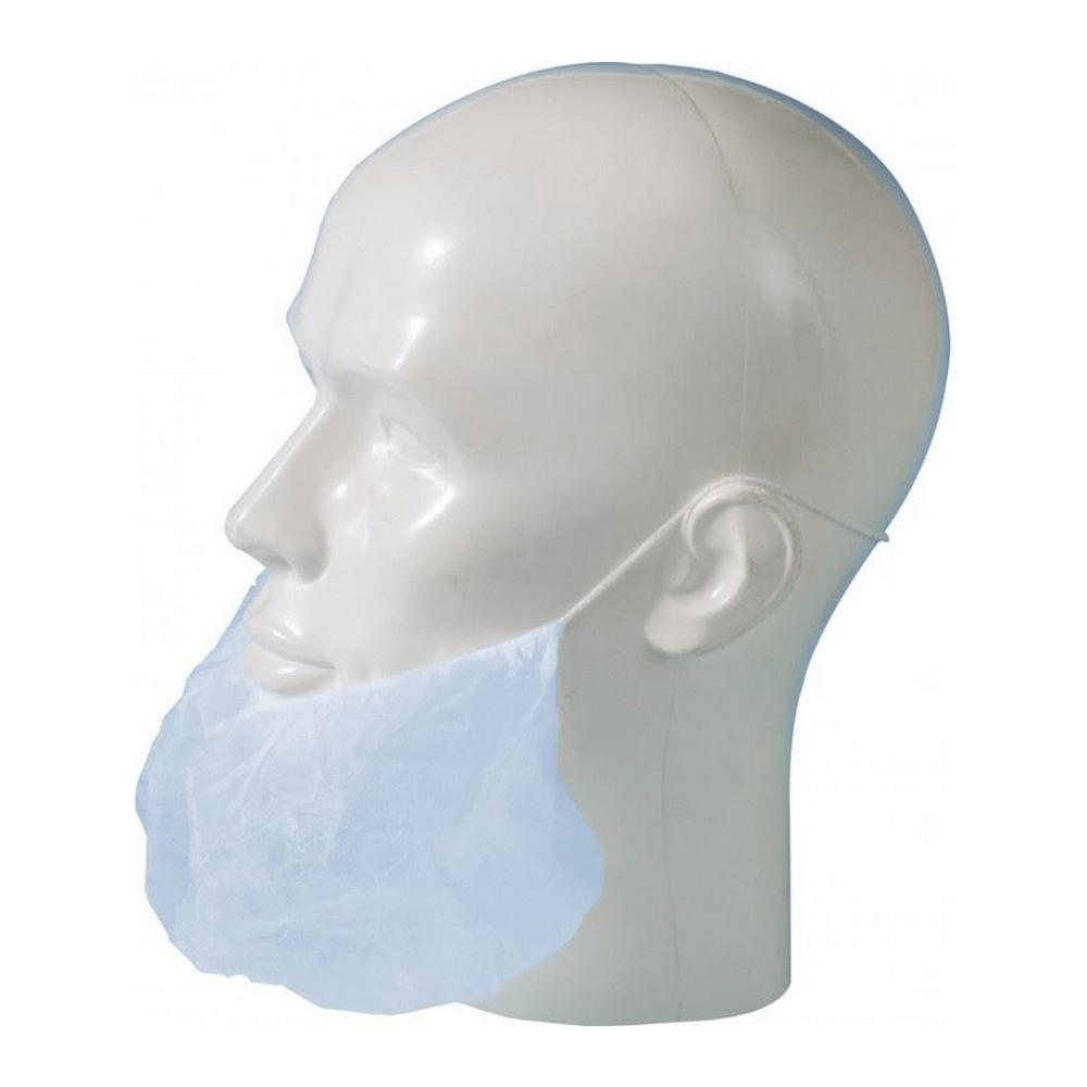 Baardmasker blauw 2000 st