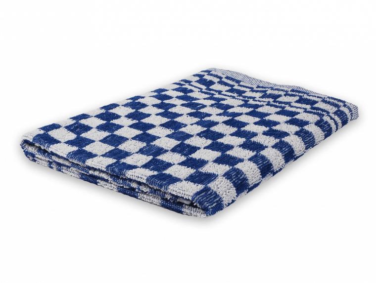 Wecoline | Keukenhanddoek | Blauw-wit geblokt | 60 x 60 cm | 6 stuks