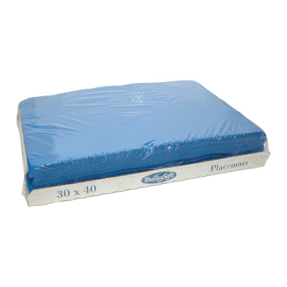 Bulkysoft Placemats blauw 30x40cm 2000 stuks