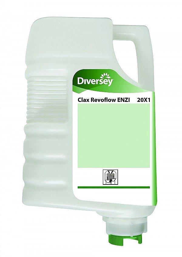 Clax Revoflow ENZI 20X1 enzymatisch wasmiddel 3 x 4 liter