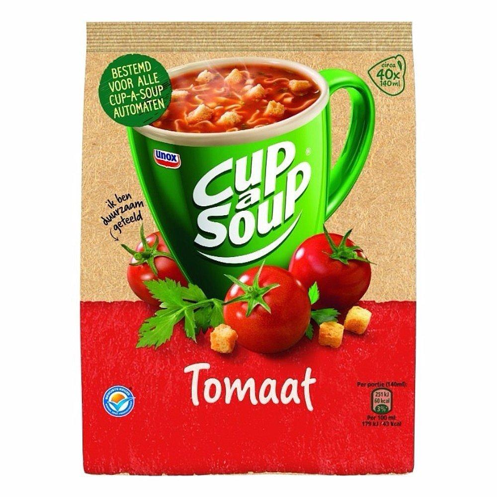 Unox | Cup-a-Soup vending | Tomaat | Zak 4 x 40