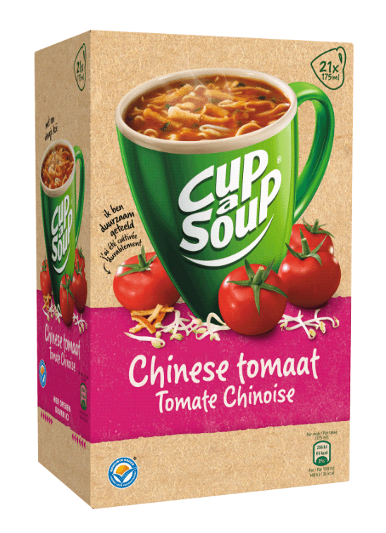 Cup-a-Soup | Chinese tomaat | 21 x 175 ml