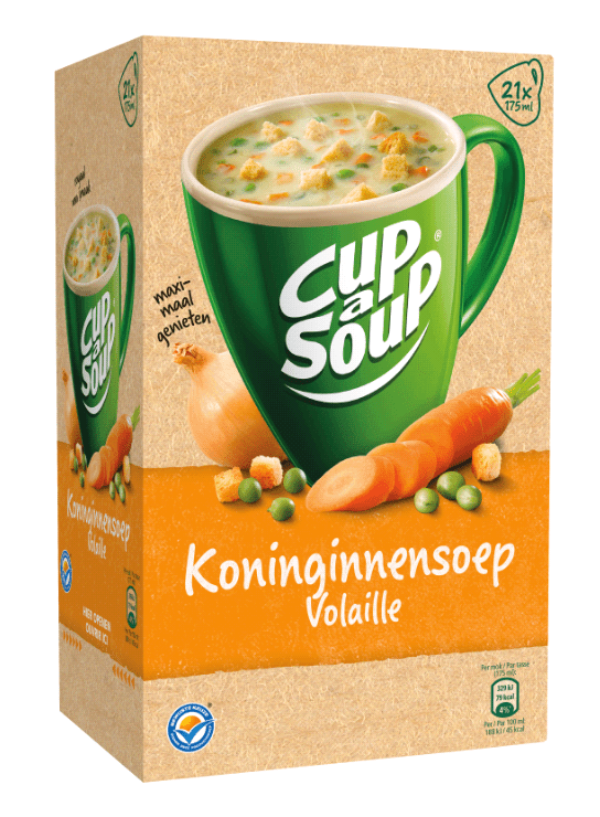 Cup-a-Soup | Koninginnesoep | 21 x 175 ml