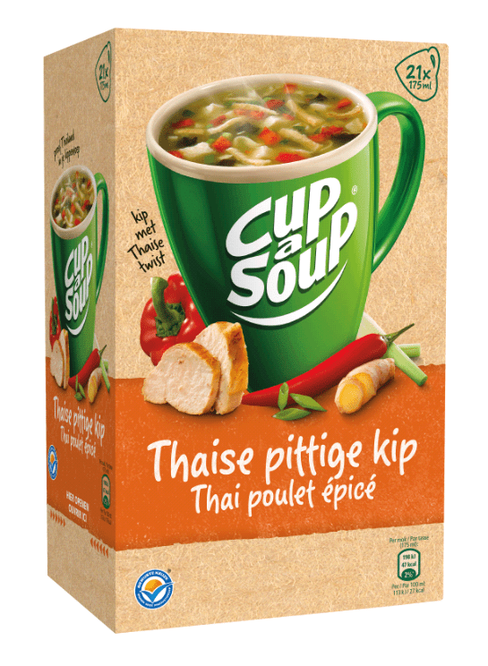 Cup-a-Soup | Thai Spicy Chicken | 21 x 175 ml