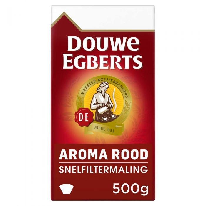Douwe Egberts Aroma Rood snelfilter 6 x 500 gram