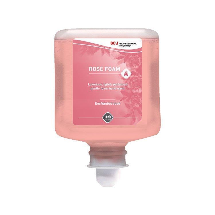 DEB Rose Foam Wash 6 x 1 liter