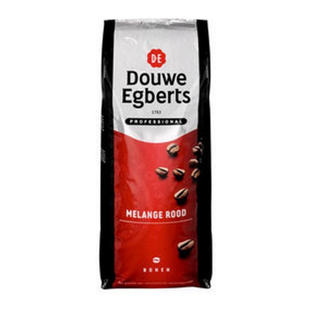 Douwe Egberts | Fresh Beans | Melange rood | Doos 6 x 1 kg