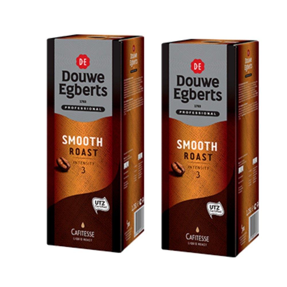 Douwe Egberts | Cafitesse Smooth Roast | Pak 2 x 1,25 liter