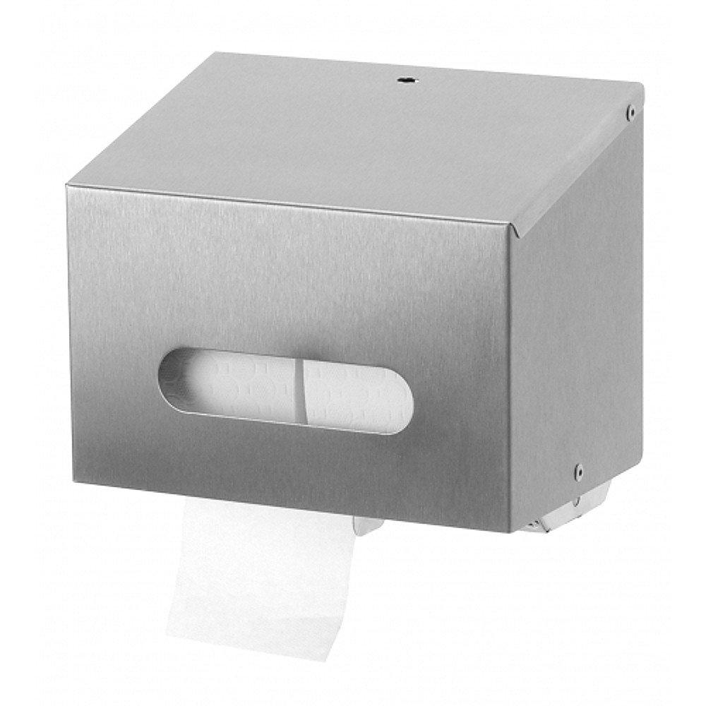 Sanfer Duo toiletrolhouder RVS