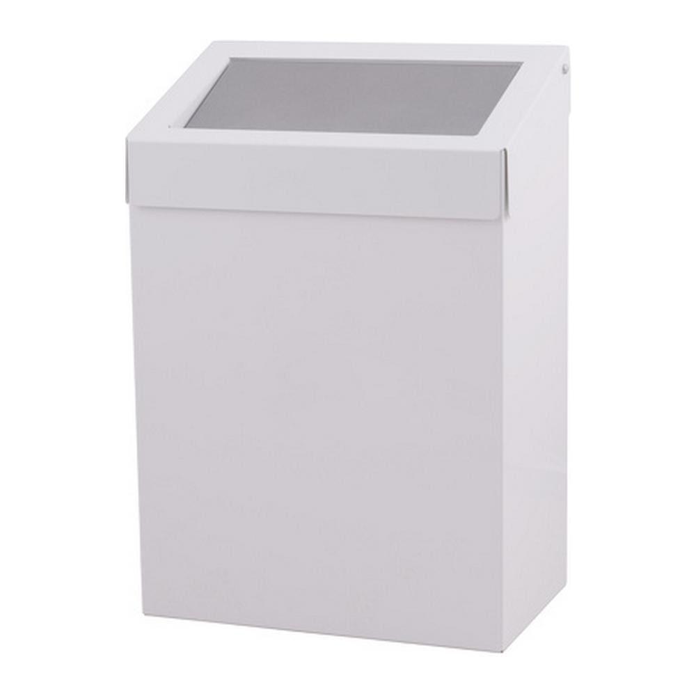 Dutch Bins afvalbak wit gesloten 20 liter