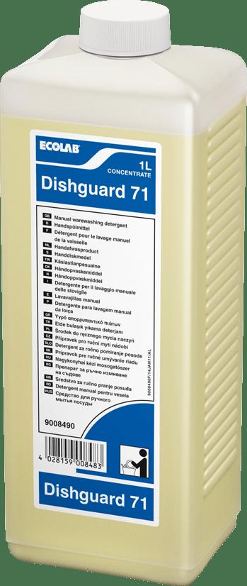 Ecolab Dishguard 71 | Fles 4 x 1 liter