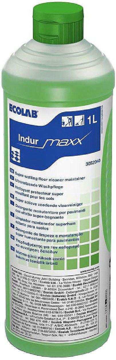 Ecolab | Maxx indur | Vloerreiniger | Fles 12 x 1 liter