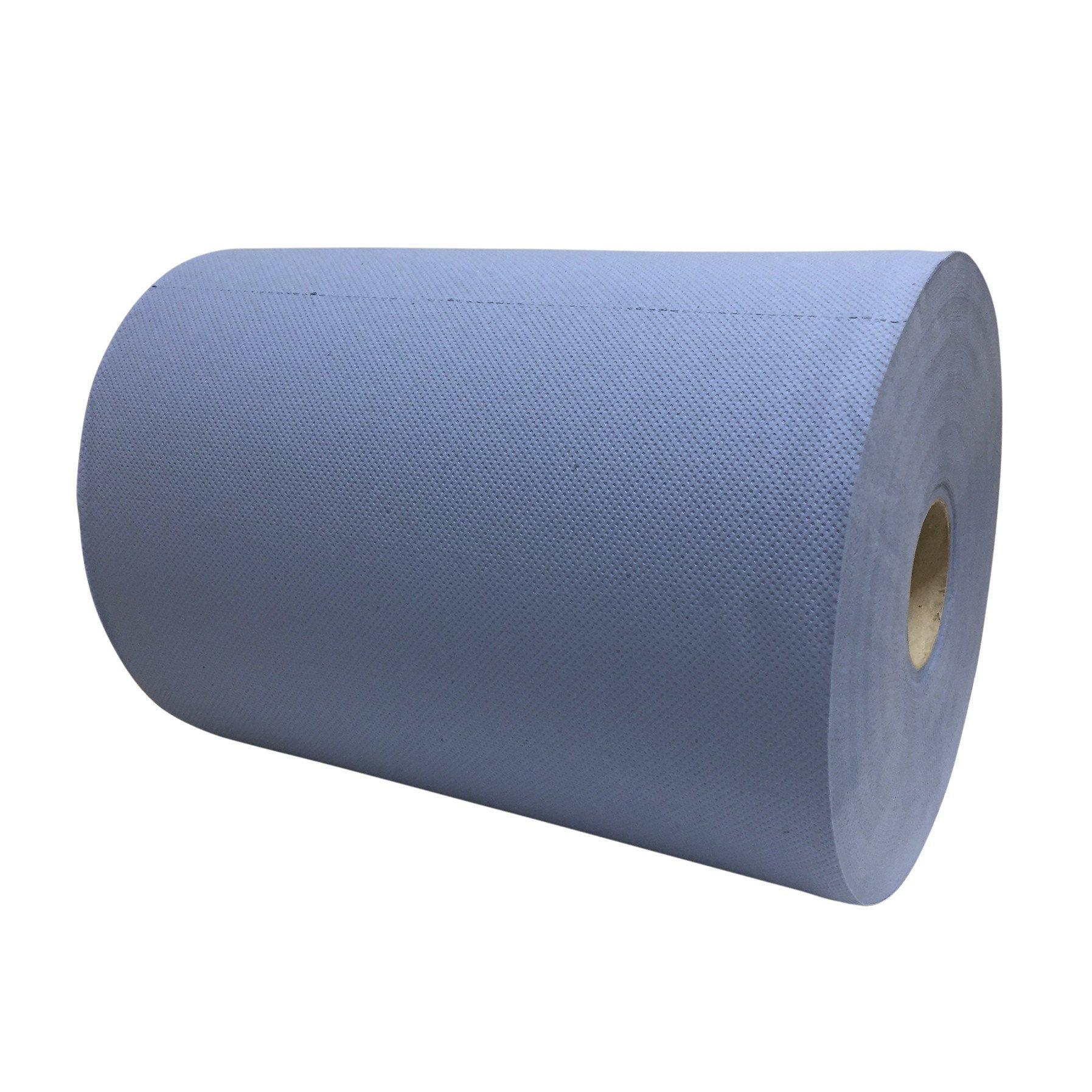 Euro Products   Industriepapier   Verlijmd 3- laags   Blauw   2 x 190 meter