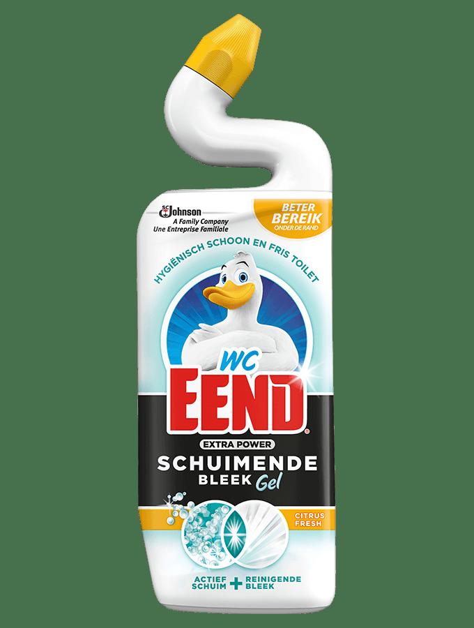 WC Eend | Schuimend bleek | Extra Power | Citrus Fresh | 12 x 750 ml