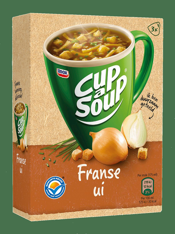 Unox   Cup-a-Soup   Franse Ui   175 ml   21 stuks