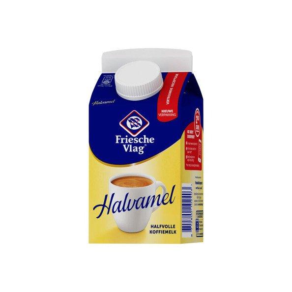 Friesche Vlag | Halvamel | Pak 18 x 455 ml