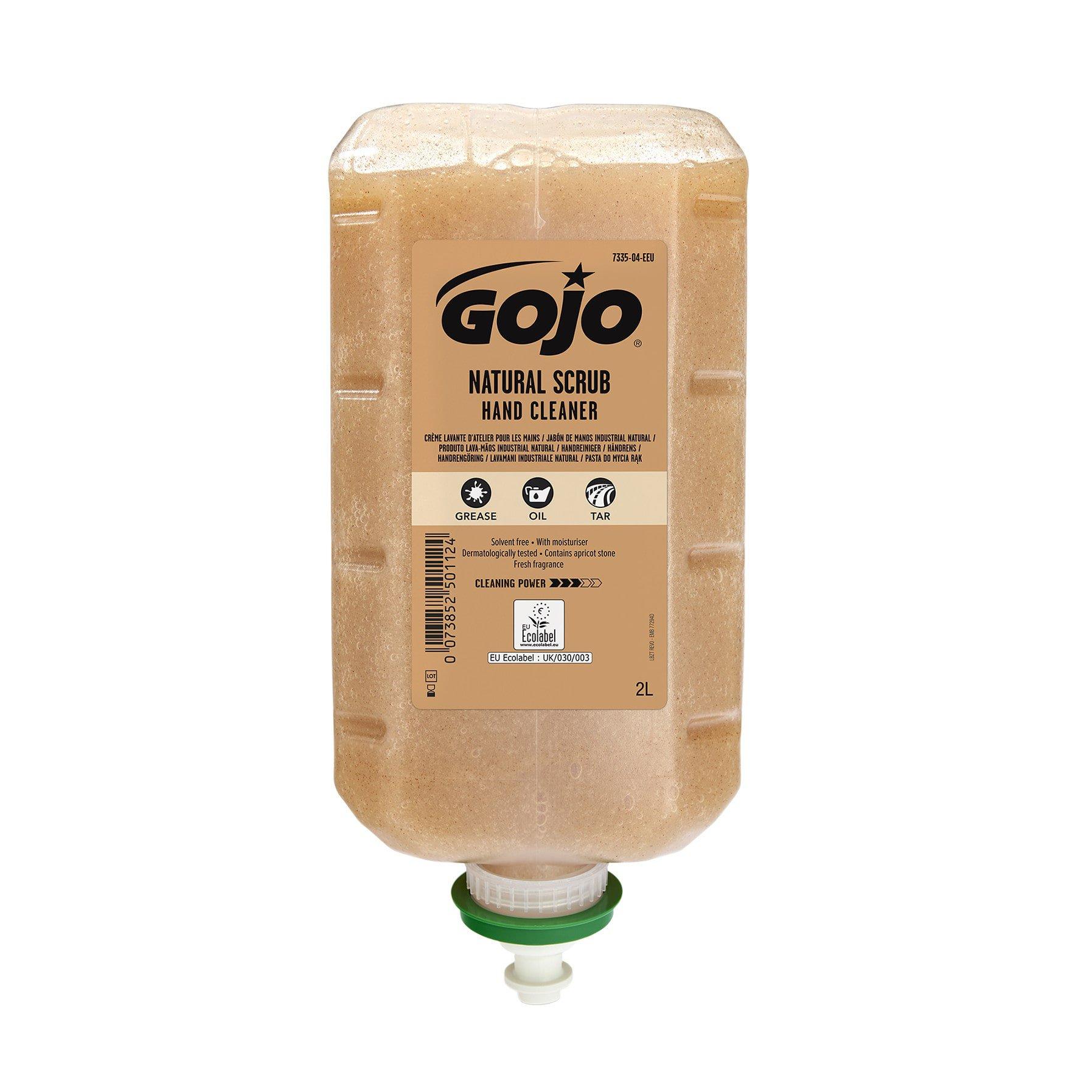 Gojo Natural Scrub handreiniger 4 x 2 liter