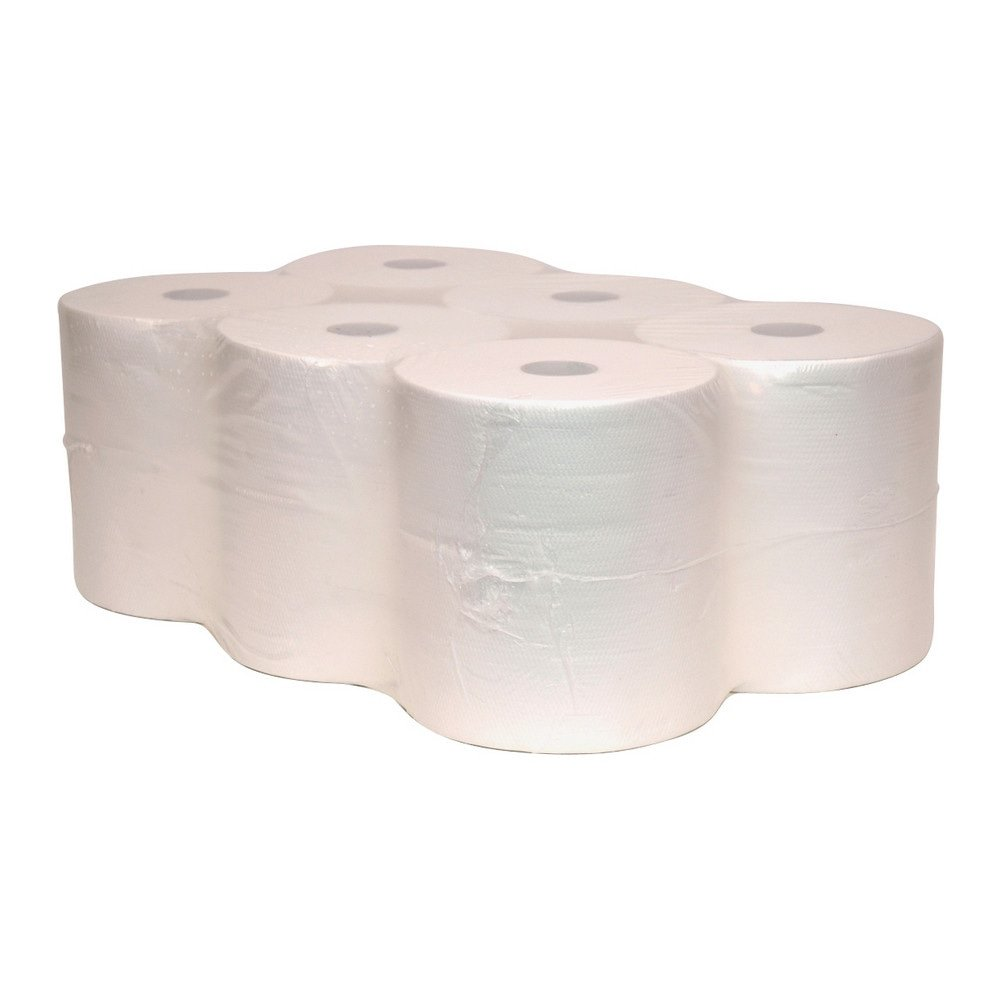Handdoekrol controlmatic 2-lgs cellulose 6 x 140 meter